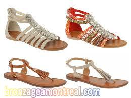 Sandalet seçimi, sandalet modelleri