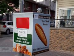 bayat ekmek toplama, bayat ekmek kutusu, bayat ekmek toplanan kutular